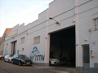 RMV fachada exterior de sus instalaciones en Zaragoza