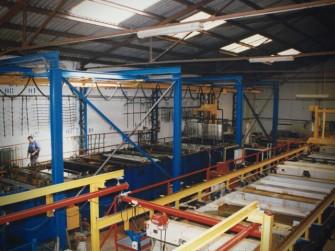 Vista General de la zona de fabricación